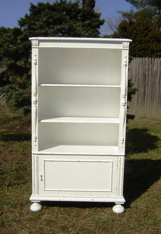 Gorgeous Antique White Shabby Chic Book