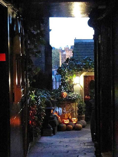 The Witchery Restaurant near Edinburgh Castle