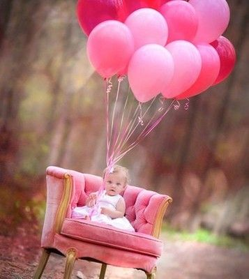 Baby Girl First Birthday Picture Idea