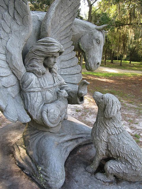 Angels Waiting ~ Pet Cemetery in Micanopy, Florida