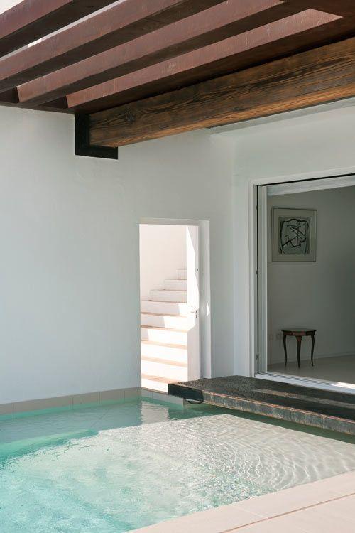 House/Pool. Dupli Dos House by Juma Architects. Ibiza, Spain.