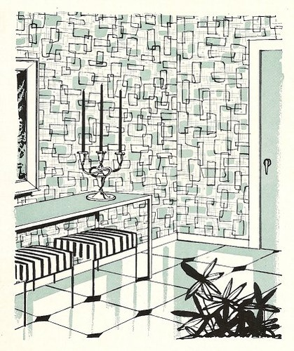 Better Homes and Gardens Decorating tips 1956