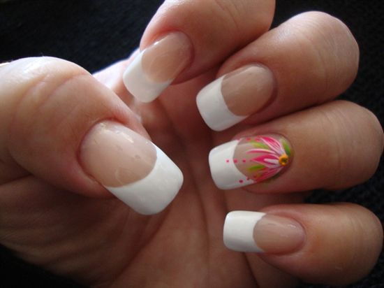Pink Flower - Nail Art Gallery by NAILS Magazine