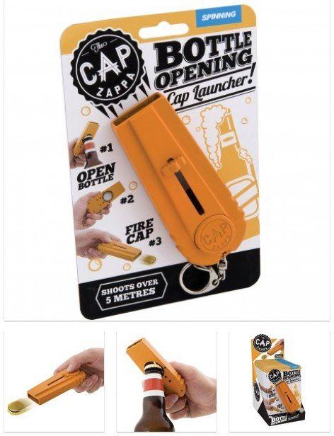 Cap Shooting Bottle Opener