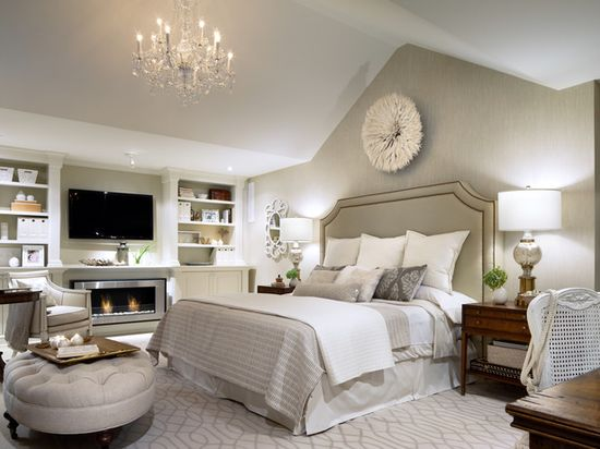 I want to go to bed now.    Bedroom Design by Candice Olson
