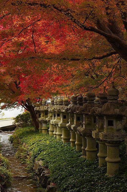 Katsuo-ji temple, Osaka, Japan