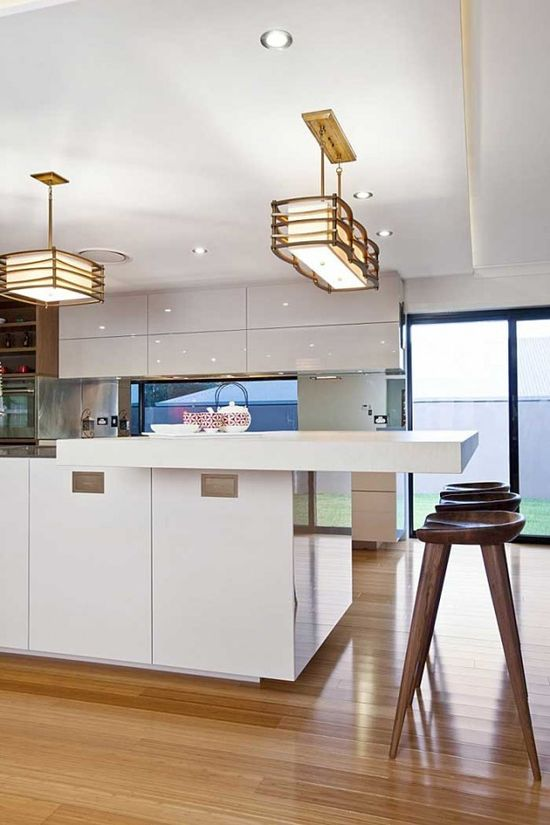 Minimalist modern kitchen design