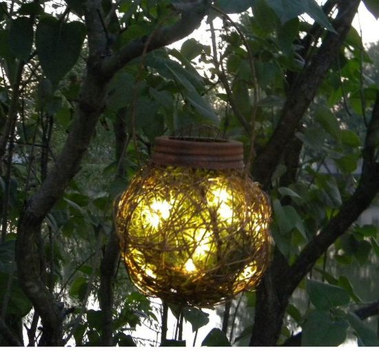 6 Rustic Outdoor Firefly Lantern Woodland Garden Wedding