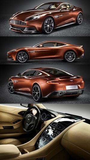 Aston Martin Vanquish Stunning Luxury Sports Car by