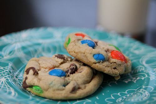 M Chocolate Chip Cookies