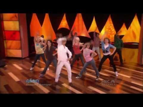 "Funny :)   ellen degeneres + sytycd dancers ""i know you"