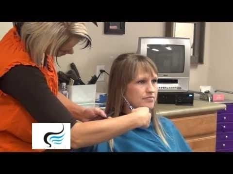 ? Style Long Straight Hair with Bangs and Layers Hairstyles - YouTube