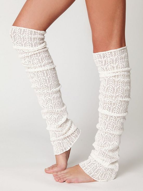 I think I need some leg warmers...