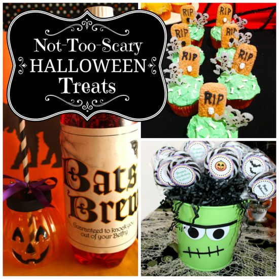not too scary halloween party ideas