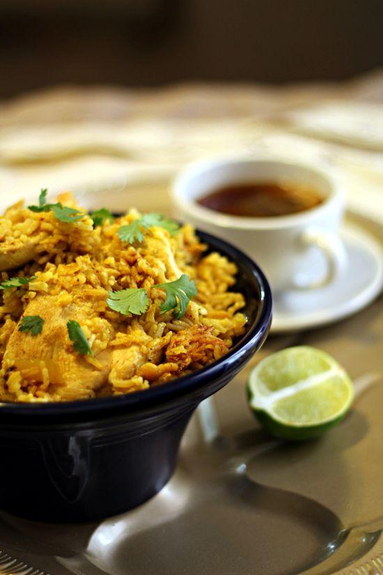 """Thai """"Hidden"""" Chicken from The Wanderlust Kitchen - a new twist on an old stand-by. Chicken & Rice lovers, unite! #Chicken #Thai #WeightWatchers"""