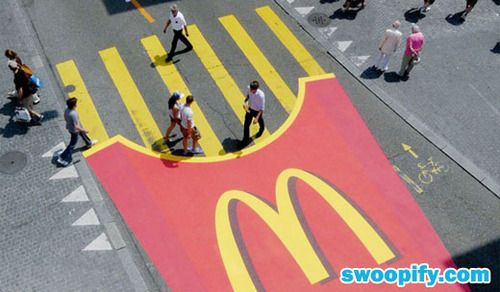 Funny #advertising from McDonalds. Delicious!