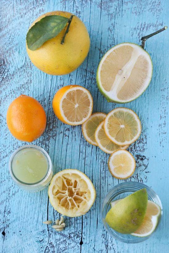 citrus and cerulean
