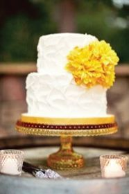 REVEL: Marigold Wedding Cake