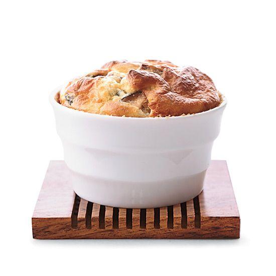 Mushroom and Chèvre Soufflés // More Terrific French Recipes: www.foodandwine.c... #foodandwine