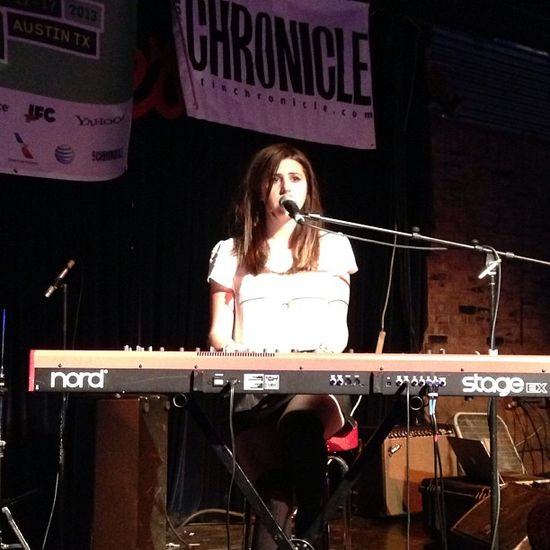 """#JilletteJohnson fully owning this crowd with an incredible version of #Radiohead's """"Creep."""" Heart stolen. #VEVOSXSW #SXSW2013"""