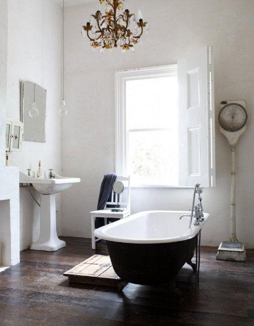 Vintage Bathroom.