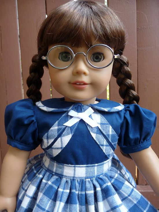 18 Doll Clothes 1940's Style School Dress Fits by Designed4Dolls, $29.95