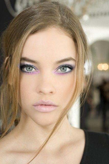 Lovely eye makeup