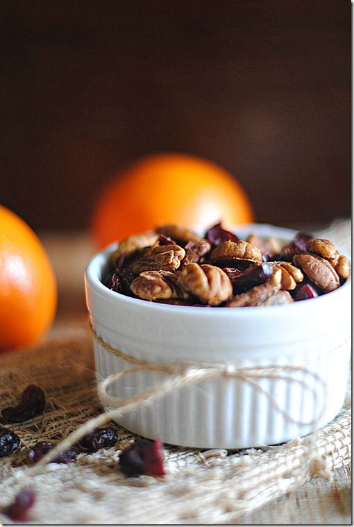 Orange Chipotle-Spiced Pecan Mix, only 3 WW points!