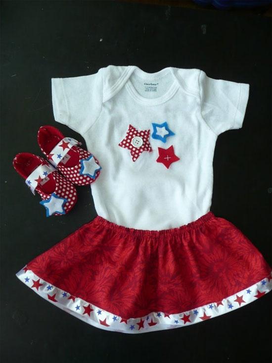 Patriotic kids outfit ideas!