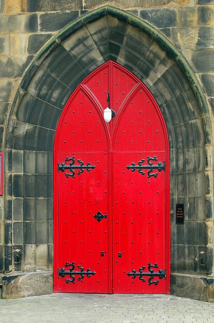 Red Door, Christian Heritage Centre at St Columba's by the Castle, Edinburgh