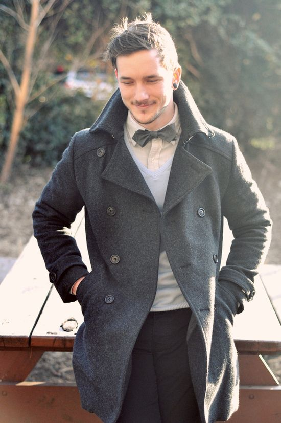 Keep it simple... but, make sure you wear a bow-tie #men #fashion #mensfashion #man #outfit #fashion #style #mensfashion #inspiration #handsome #dapper