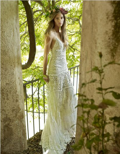 Boho Wedding dress ~