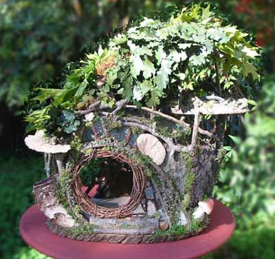 Forest Whimsy fairy houses