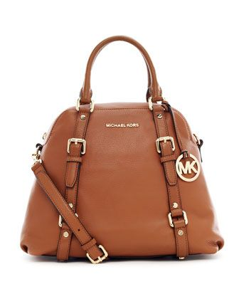 Bedford Large Bowling Satchel Bag by MICHAEL Michael Kors at Neiman Marcus.