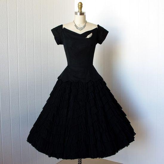 1950's party dress!!!!!!!!!!