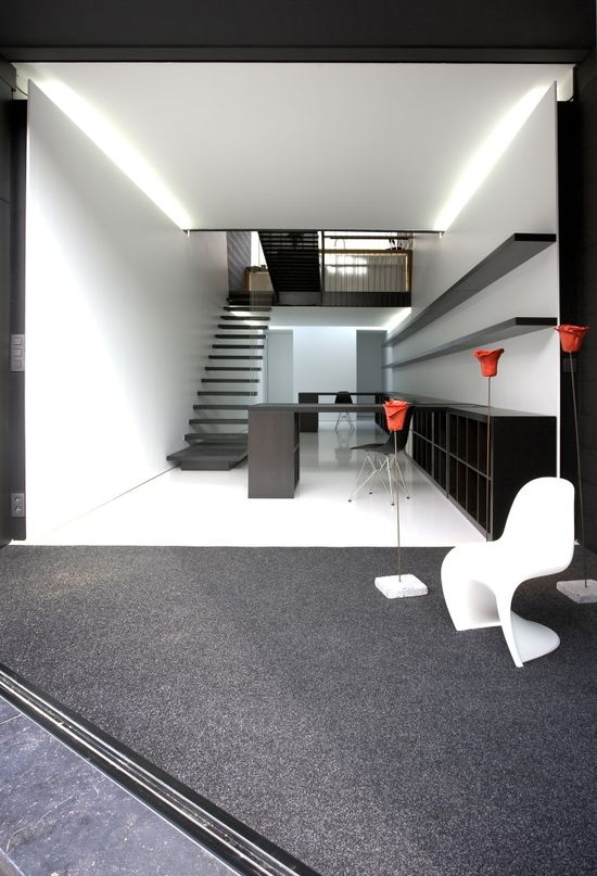 Office AST 77 + Apartment / AST 77-Architects: AST 77  Location: Tienen, Belgium