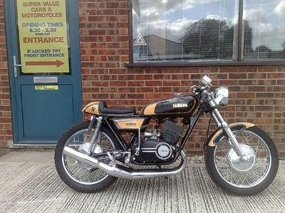 """1972 Yamaha YDS7 350 """"JPS Special"""""""