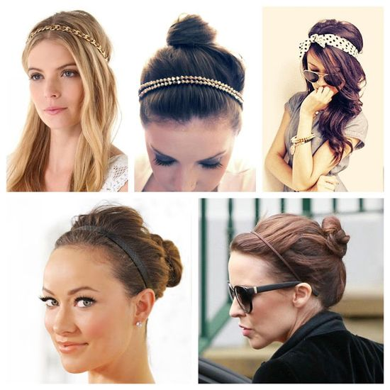 It's All Happening: HOW TO WEAR A HEADBAND
