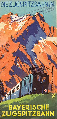 vintage travel poster #train