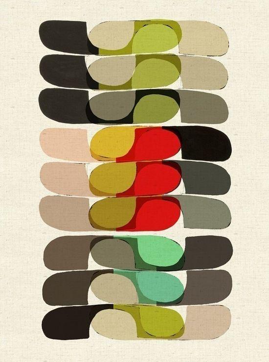 inaluxe---Kristina Sostarko + Jason Odd 2010, retro colours