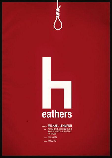 Heathers - movie poster