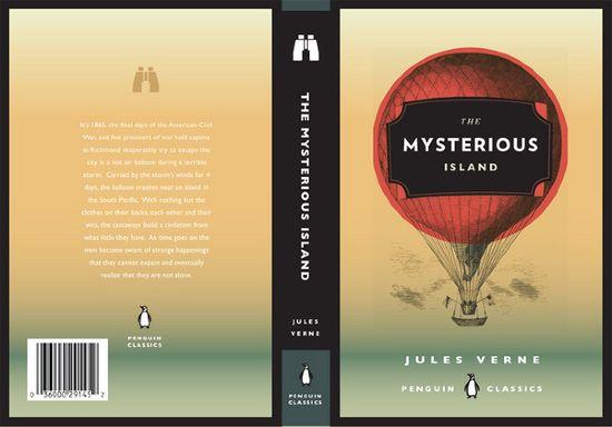 Jules Verne Book Covers - Allison Tylek