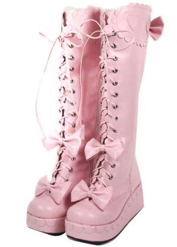 ??? FASHION LONG BOOTS for GIRLS ???? Lolita Shoes