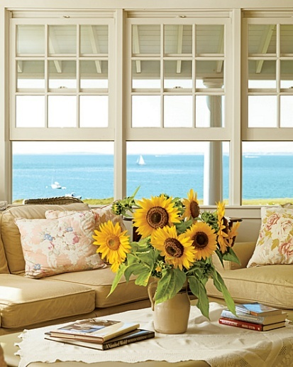 sea & sunflowers