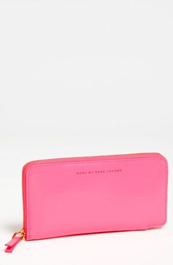 MARC BY MARC JACOBS 'It's Back' Zip Around Wallet