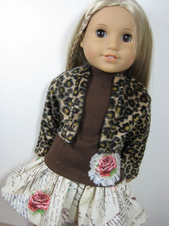 18 inch Doll Clothes American Girl French by nayasdesigns on Etsy, $45.00
