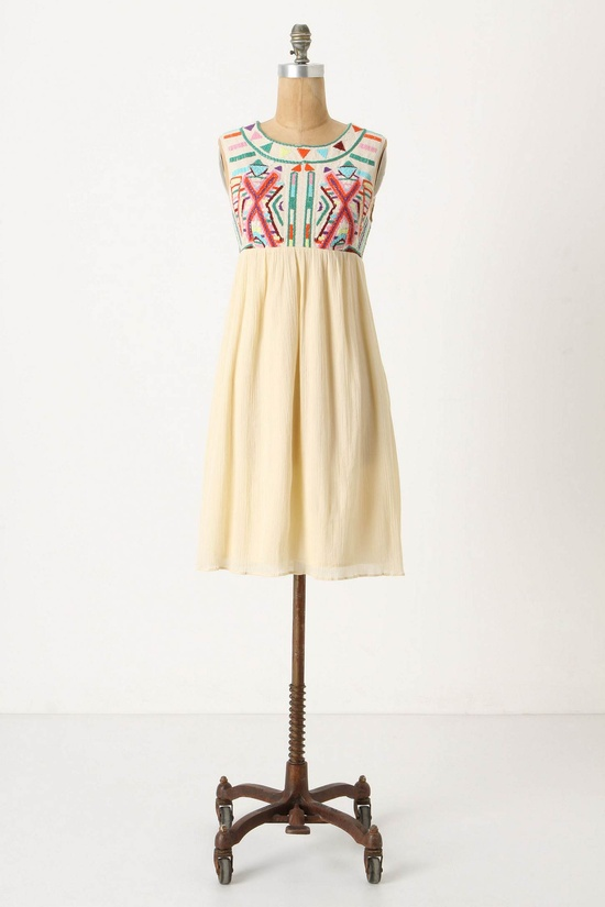 Contrasting Halves Dress