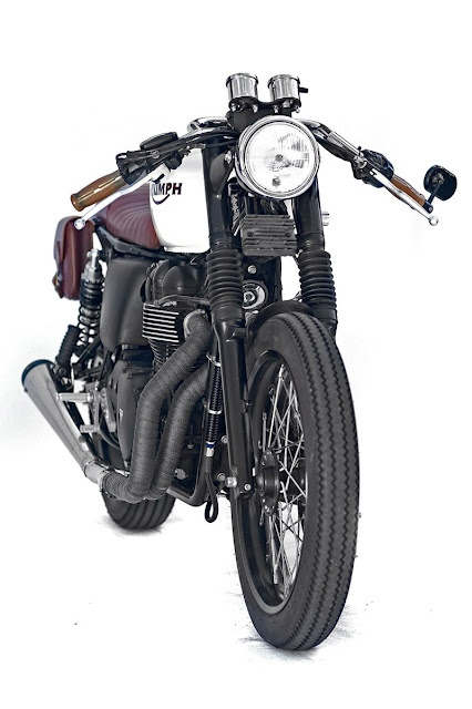 Love this custom Triumph Bonneville by Deus Venice