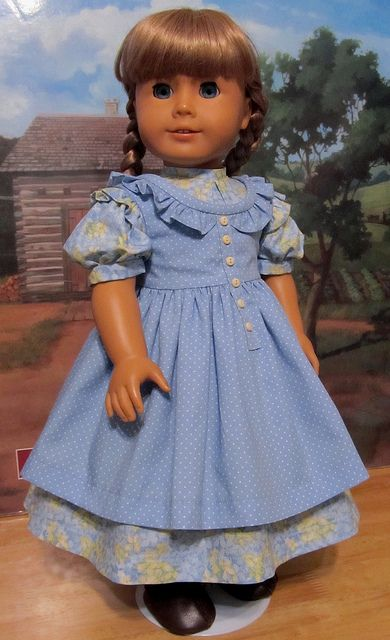 2pc. Summer Prairie Ruffles- Made to Fit AG Doll Kirsten by Keepersdollyduds