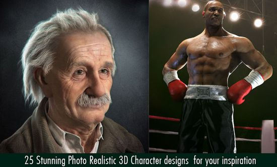 25 Stunning Photo Realistic 3D Character designs  for your inspiration. Follow us www.pinterest.com...